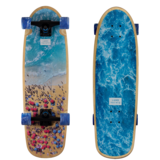 Landyachtz 2018 Tugboat Beach Party Pre-Assembled Longboard Skateboard Complete