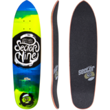 Sector 9 Nugget Mini Longboard Deck w/ Grip