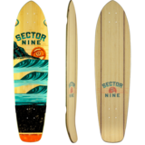 Sector 9 Stacked Strand Longboard Skateboard Custom Complete