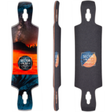 Sector 9 Daybreak Static Longboard Skateboard Deck w/ Grip