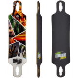 2018 Sector 9 Timber Bintang Longboard Skateboard Deck w/ Grip