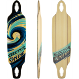Sector 9 Slab Mini Lookout Longboard Skateboard Deck w/ Grip