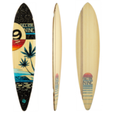 Sector 9 Eclipse Bonsai Pintail Longboard Skateboard Deck