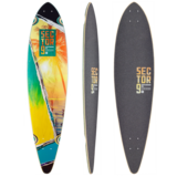 Sector 9 Vista Ripple Longboard Skateboard Deck w/ Grip