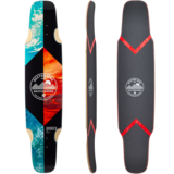 Sector 9 Split Double Cross Longboard Skateboard Custom Complete