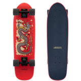 Landyachtz Dinghy Dragon Red Mini Longboard Pre-Assembled Complete