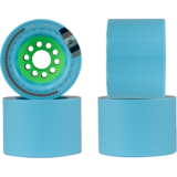 80mm Orangatang Kegel 77a Blue Longboard Skateboard Wheels