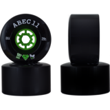 ABEC 11 107mm Black Superfly Flywheels Longboard Skateboard Wheels