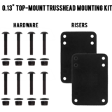 "MuirSkate Beasto 0.13"" Top Mount Trusshead Hardware Mounting Kit"