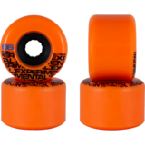 66mm Powell Experimental Beta Pasters Longboard Skateboard Wheels