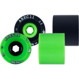 75mm ABEC 11 Reflex Thane Big Zig HD Longboard Skateboard Wheels