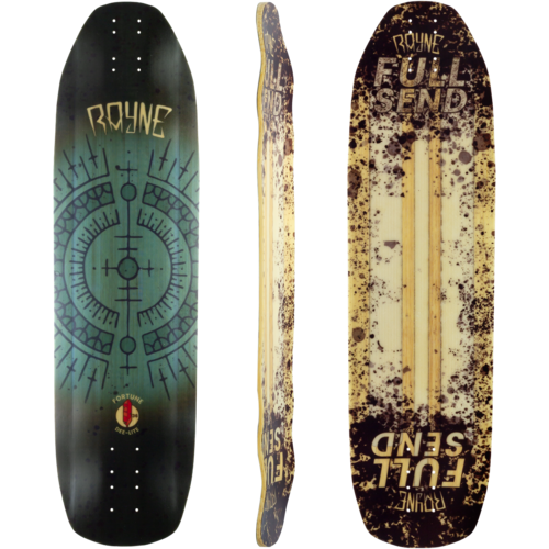 Rayne Deelite Fortune 36 Full Send Longboard Deck