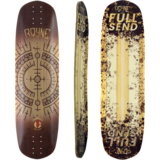 Rayne Deelite Exorcist 34 Full Send Longboard Deck