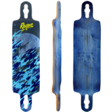 "Rayne Demonseed 39"" Wave Camo Longboard Skateboard Deck"