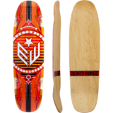 Earthwing Team 33 Longboard Skateboard Deck w/ Grip