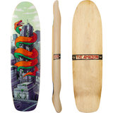Earthwing The Amazon 37 Team Longboard Skateboard Deck
