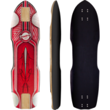 "Madrid 2019 Pro Series Leadfoot 32.375"" Zak Maytum Longboard Skateboard Deck w/Grip"