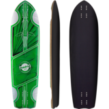 "Madrid 2019 Pro Series Wraith 34.5"" Team Edition Longboard Skateboard Deck w /Grip"