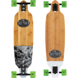 2019 Sector 9 Monsoon Shoots Longboard Pre-Assembled Complete