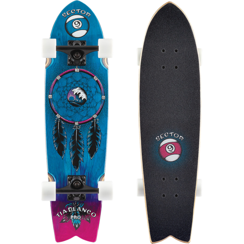 2019 Sector 9 Feather Tia Pro Skateboard Pre-Assembled Complete