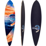 Sector 9 Reflection Ripple Longboard Skateboard Deck w/ Grip
