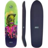 Landyachtz 2019 Dinghy Creature Mini Longboard Skateboard Deck w/ Grip