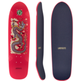Landyachtz 2019 Dinghy Red Dragon Mini Longboard Skateboard Custom Complete