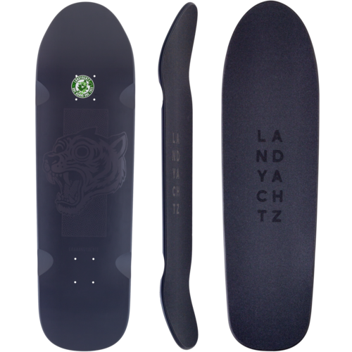 Landyachtz 2019 ATV Grey Tiger Skateboard Custom Complete