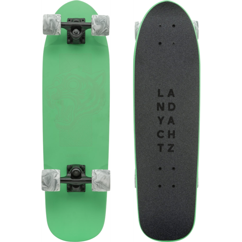 Landyachtz Dinghy Green Tiger Mini Pre-Assembled Complete