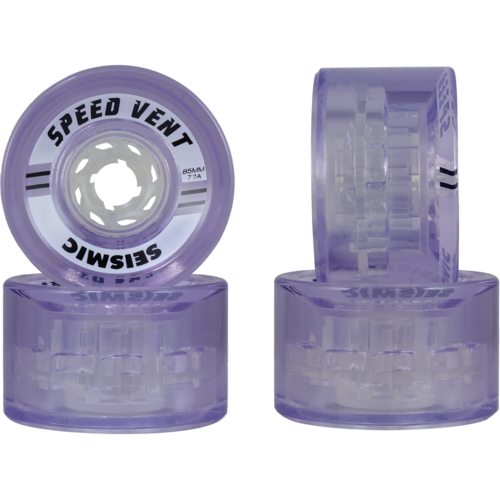 85mm Seismic Speed Vent Downhill Longboard Wheels