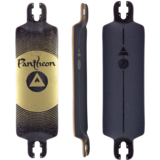 Pantheon 9 Ply Trip Longboard Skateboard Deck w/ Grip