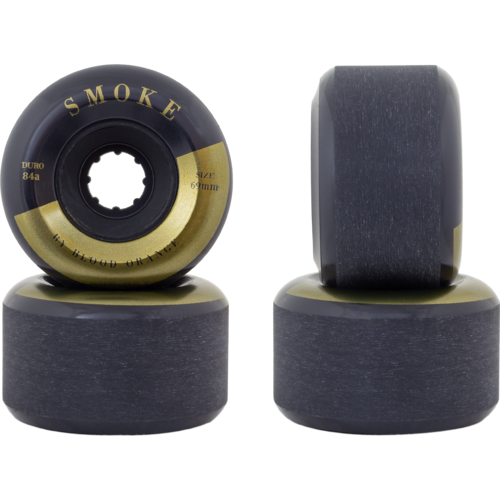 69mm Blood Orange Smoke 84a Longboard Skateboard Wheels