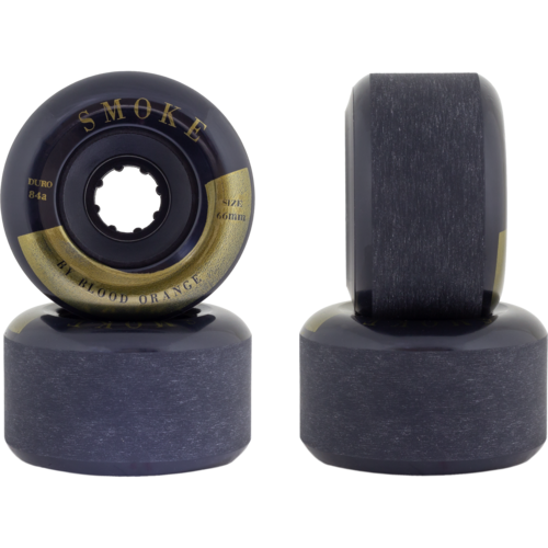 66mm Blood Orange Smoke 84a Longboard Skateboard Wheels