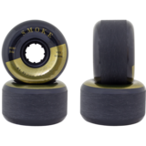60mm Blood Orange Smoke 84a Longboard Skateboard Wheels