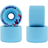 70mm Orangatang Stimulus Freeride 77a Blue Longboard Skateboard Wheels