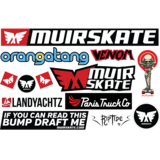 MUIRSKATE Full-Tuck Sticker Pack