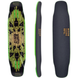 Moonshine MFG Elixir Longboard Skateboard Deck w/ Grip