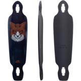 "Landyachtz Battle Axe 38"" Fox Longboard Skateboard Custom Complete"