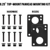 "MuirSkate Beasto 0.25"" Top Mount Panhead Hardware Mounting Kit"