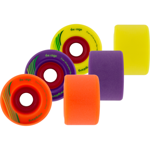 73mm Orangatang The Cage Longboard Skateboard Wheels