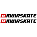 MuirSkate Speed Enhancing* Rectangular Sticker - White