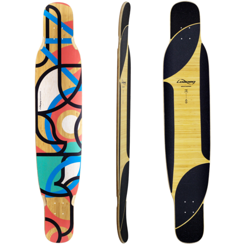 Loaded Bhangra V2 Longboard Skateboard Custom Complete