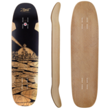 Zenit Morning Wood V2 Longboard Skateboard Deck w /Grip