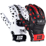 2018 Bam Bam Pro Leather Slide Gloves w/ Spark Pucks