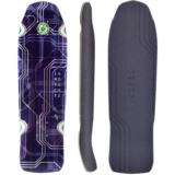 Landyachtz Dinghy Relay Longboard Skateboard Deck w/ Grip