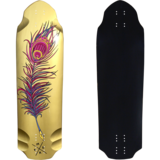 Madrid 2019 Pro Series Snitch Harry Clarke  Longboard Skateboard Deck w /Grip