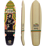 Sector 9 Bob Marley Trenchtown Rock Skateboard Deck W/ Grip