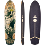 Pantheon 2020 Gaia Longboard Skateboard Deck w/ Grip