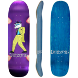 Bonzing Big Dog Purple Skateboard Custom Complete