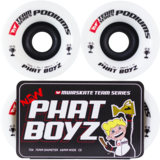 75mm MUIRSKATE PHAT BOYZ Team Series  Podiums Longboard Skateboard Wheels